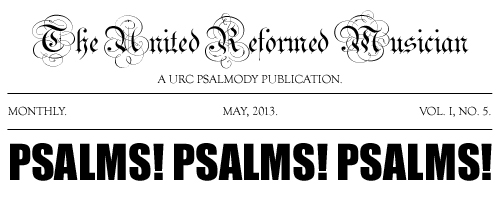 May's Psalmody News